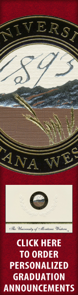 Order your University of Montana Western Graduation Announcements NOW!