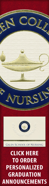 Order your Galen College of Nursing Graduation Announcements NOW!