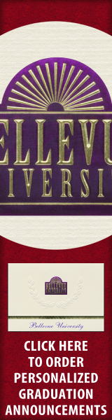 Order your Bellevue University Graduation Announcements NOW!