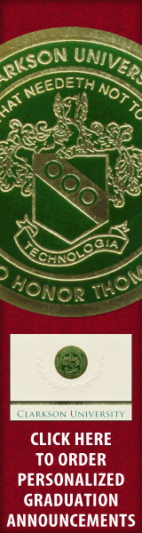 Order your Clarkson University Graduation Announcements NOW!