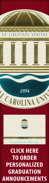 Order your Coastal Carolina University Graduation Announcements NOW!