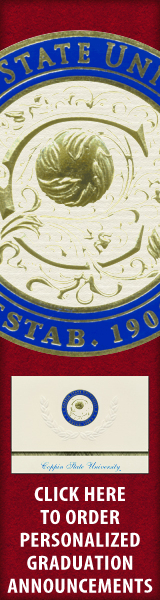 Order your Coppin State University Graduation Announcements NOW!