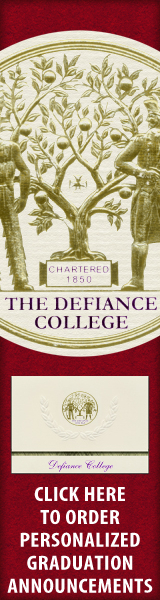 Order your Defiance College Graduation Announcements NOW!