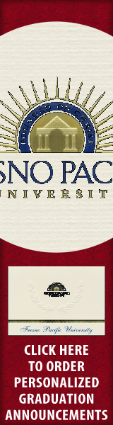 Order your Fresno Pacific University Graduation Announcements NOW!