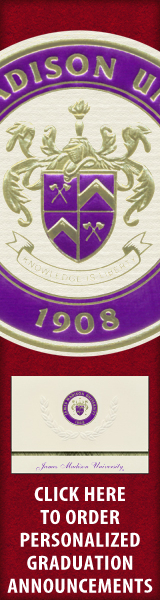 Order your James Madison University Graduation Announcements NOW!