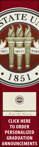 Order your Florida State University Graduation Announcements NOW!
