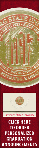 Order your Pittsburg State University Graduation Announcements NOW!