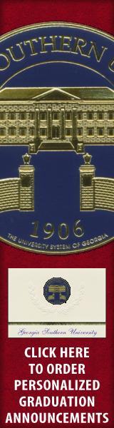 Order your Georgia Southern University Graduation Announcements NOW!