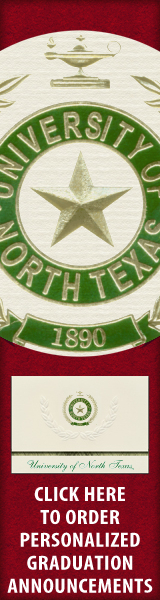 Order your University of North Texas Graduation Announcements NOW!