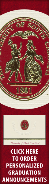 Order your University of South Carolina Graduation Announcements NOW!
