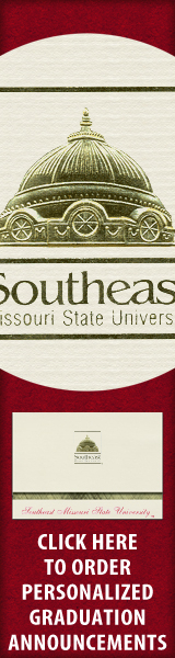 Order your Southeast Missouri State University Graduation Announcements NOW!