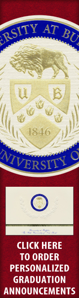 Order your University at Buffalo Graduation Announcements NOW!