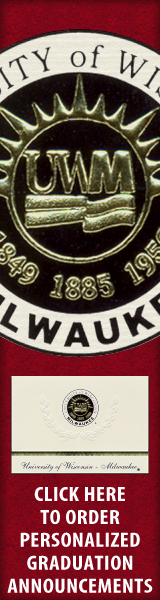 Order your University of Wisconsin - Milwaukee Graduation Announcements NOW!