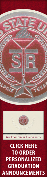 Order your Sul Ross State University Graduation Announcements NOW!
