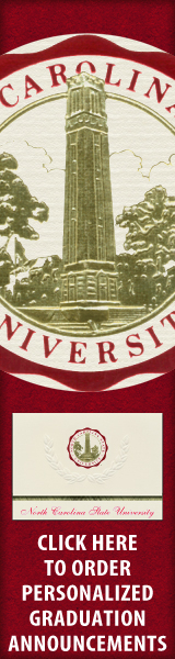 Order your North Carolina State University Graduation Announcements NOW!