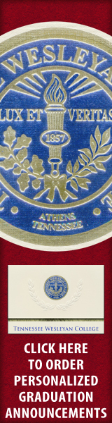 Order your Tennessee Wesleyan College Graduation Announcements NOW!