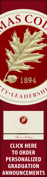Order your Thomas College Graduation Announcements NOW!