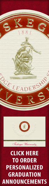 Order your Tuskegee University Graduation Announcements NOW!