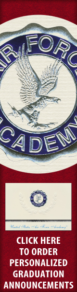 Order your United States Air Force Academy Graduation Announcements NOW!