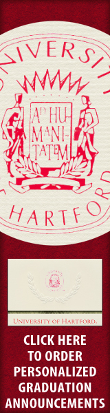 Order your University of Hartford Graduation Announcements NOW!