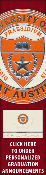 Order your The University of Texas at Austin Graduation Announcements NOW!
