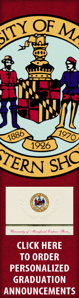 Order your University of Maryland Eastern Shore Graduation Announcements NOW!
