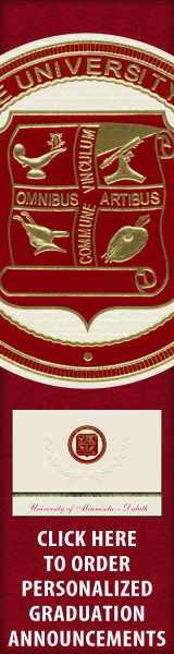 Order your University of Minnesota - Duluth Graduation Announcements NOW!