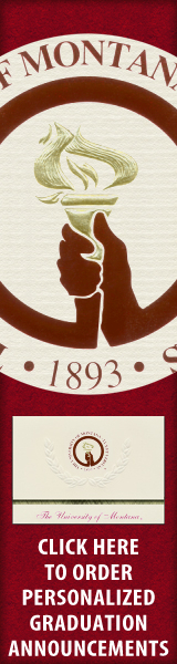 Order your The University of Montana Graduation Announcements NOW!