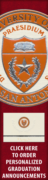 Order your University of Texas at San Antonio Graduation Announcements NOW!