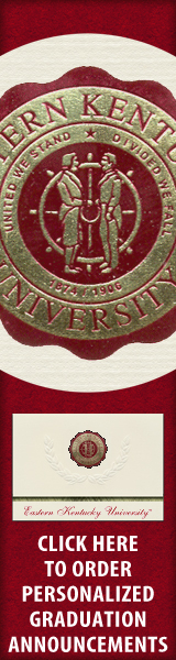 Order your Eastern Kentucky University Graduation Announcements NOW!