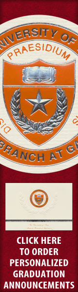 Order your University of Texas Medical Branch Graduation Announcements NOW!