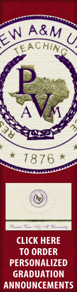 Order your Prairie View A&M University Graduation Announcements NOW!