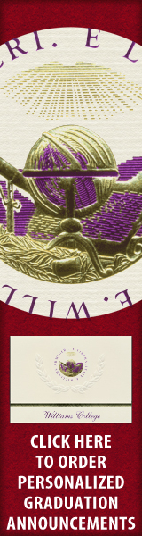 Order your Williams College Graduation Announcements NOW!