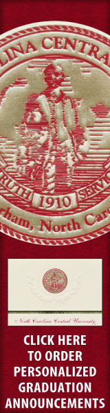 Order your North Carolina Central University Graduation Announcements NOW!