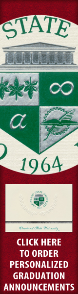 Order your Cleveland State University Graduation Announcements NOW!