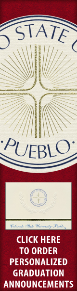 Order your Colorado State University - Pueblo Graduation Announcements NOW!