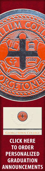 Order your Georgetown College Graduation Announcements NOW!