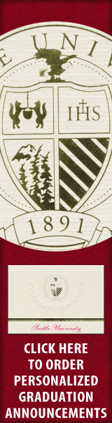 Order your Seattle University Graduation Announcements NOW!