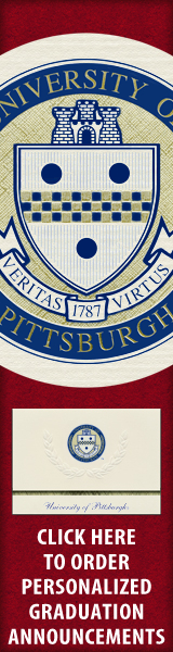 Order your University of Pittsburgh Graduation Announcements NOW!