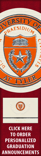 Order your University of Texas at Tyler Graduation Announcements NOW!