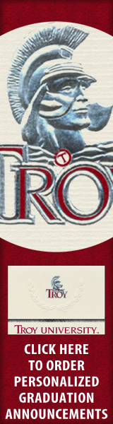Order your Troy University Graduation Announcements NOW!
