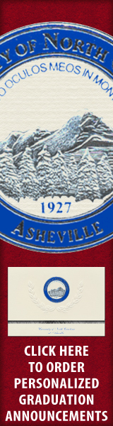 Order your University of North Carolina at Asheville Graduation Announcements NOW!