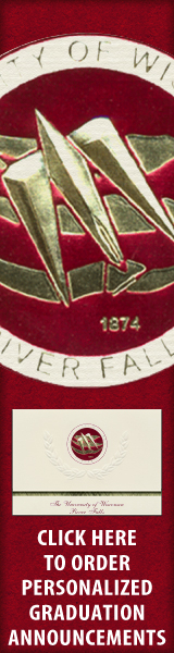 Order your University of Wisconsin - River Falls Graduation Announcements NOW!