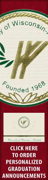 Order your University of Wisconsin - Parkside Graduation Announcements NOW!