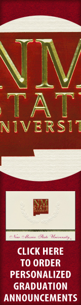 Order your New Mexico State University Graduation Announcements NOW!