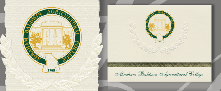 Abraham Baldwin Agricultural College Graduation Announcements