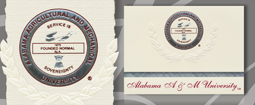 Alabama A&M University Graduation Announcements