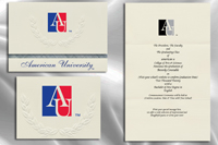 American University Graduation Announcements
