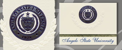angelo state university graduation announcements angelo state