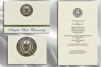 Angelo State University Graduation Announcements